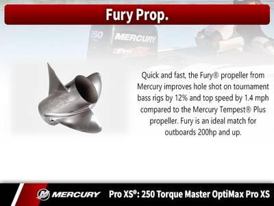 2018 Mercury Marine® Pro XS® 250 HP Torque Master Base | Adventure